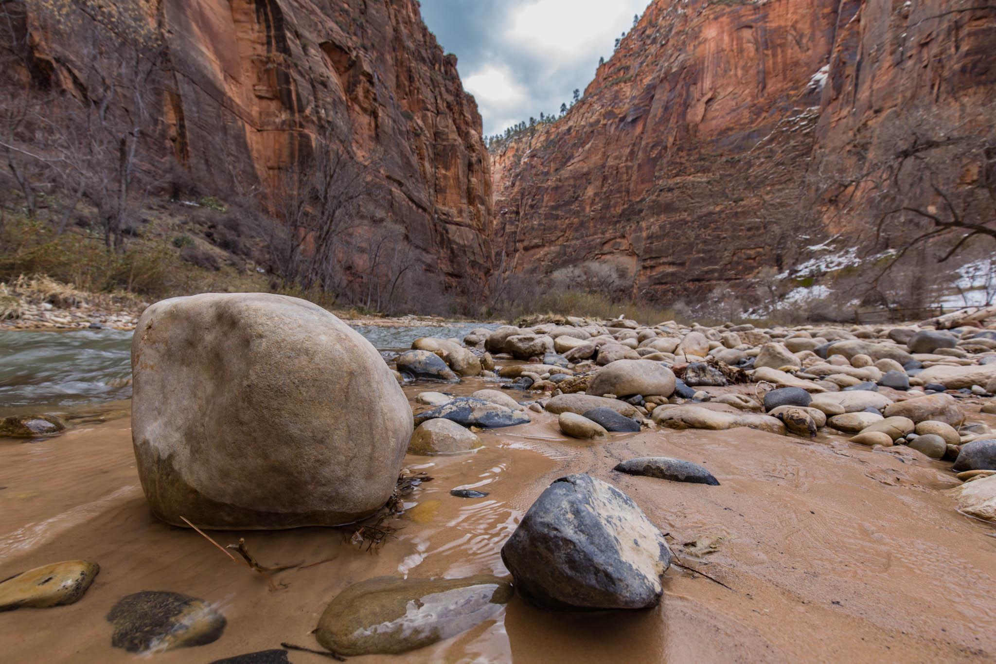 Riverside Boulders