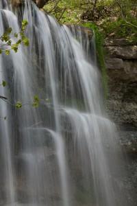 Waterfalls at Rock Glen, ON, Canada.