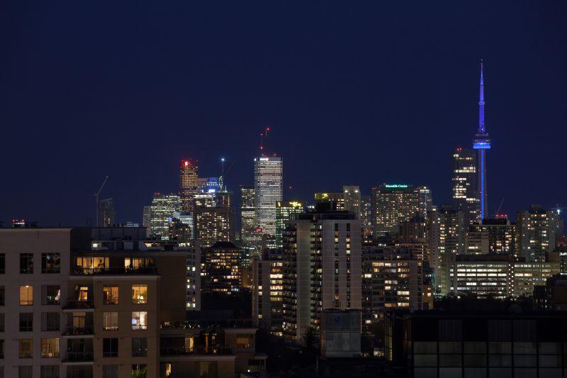 Toronto Skyline (from Eglinton Ave.)