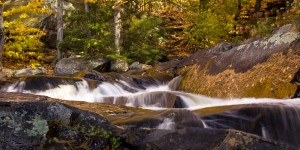 "<strong>Stubb's Falls</strong> 20"" x 40"" Limited Edition Giclée Canvas  $450"