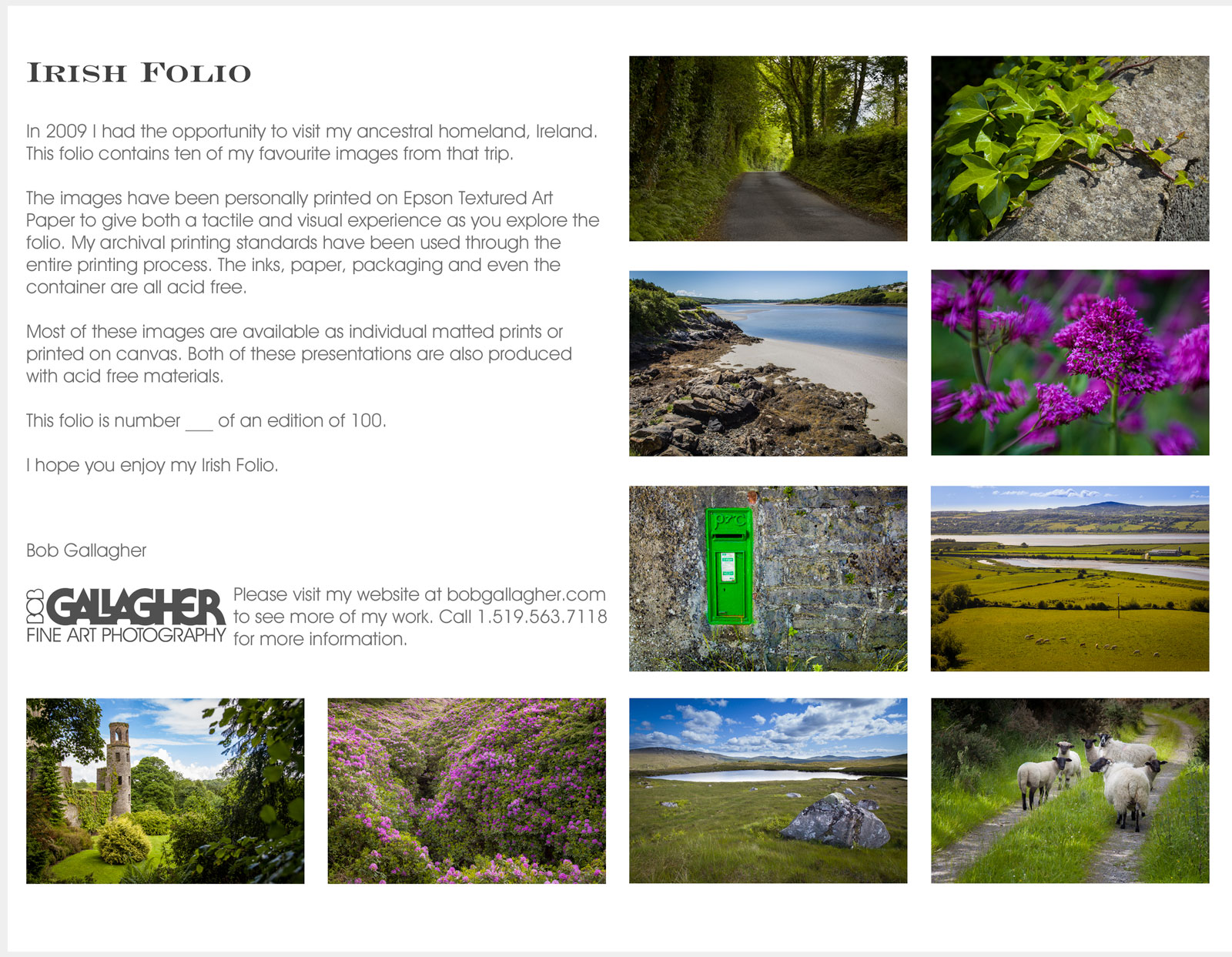 Folio-1-Ireland-Sheet